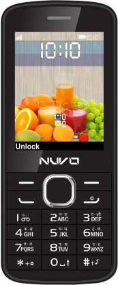 Nuvo Flash Black Echo Without Accessories