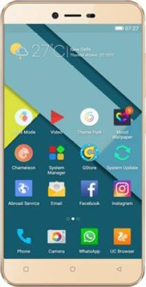 Gionee P7 (Gold, 16 GB)