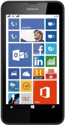 Nokia Lumia 630 Single Sim (Black, 8 GB)