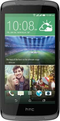 HTC Desire 526G Plus (Glossy Black, 16 GB)