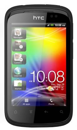 HTC Explorer A310E (Metallic Black, 90 MB)