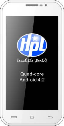 HPL A1XP Quad Core (White, 4 GB)