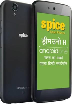 SPICE Dream UNO Mi-498H(Android One) (Black, 4 GB)