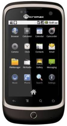 Micromax A70 (Cocoa Brown, 160 MB)