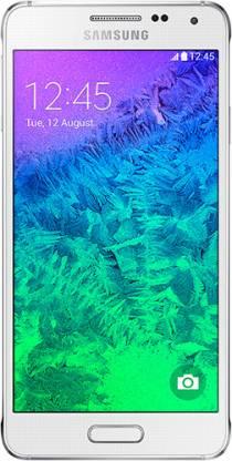 SAMSUNG Galaxy Alpha (White, 32 GB)