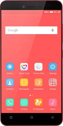 GIONEE P5L (Red, 16 GB)