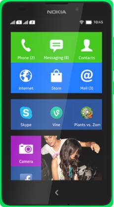 Nokia XL (Bright Green, 4 GB)