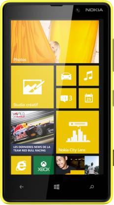 Nokia Lumia 820 (Yellow, 8 GB)