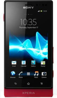 SONY Xperia Sola (Red, 8 GB)
