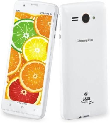 BSNL My Phone 51 (White, 4 GB)