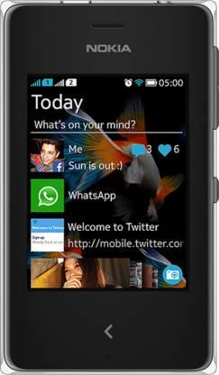 Nokia Asha 500 RM-934 (Black, 64 MB)