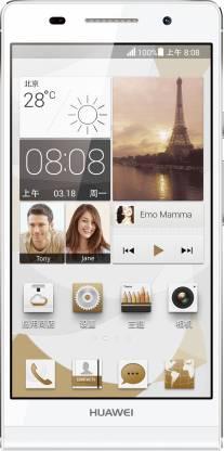 Huawei Ascend P6 (White, 8 GB)