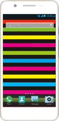 Micromax Canvas Hue (White and Gold, 8 GB)