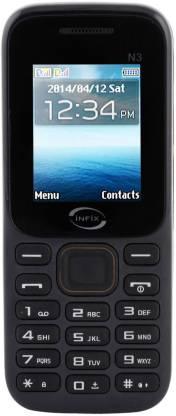 Infix N-3 Dual Sim Multimedia 2.4 Inches