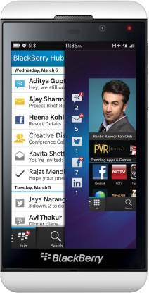 BlackBerry Z10 (Pure White, 16 GB)