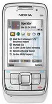 Nokia E SERIES (WHITE STEEL, 110 MB)