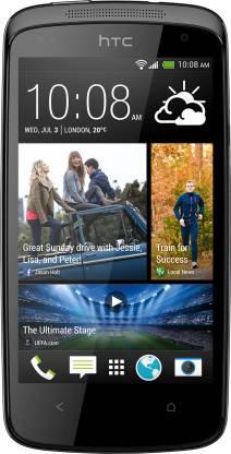 HTC Desire 500 Dual Sim (Glossy Black, 4 GB)