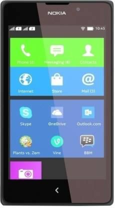 Nokia XL (Black, 4 GB)