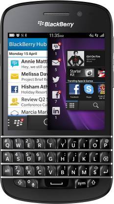 BlackBerry Q10 (Black, 16 GB)