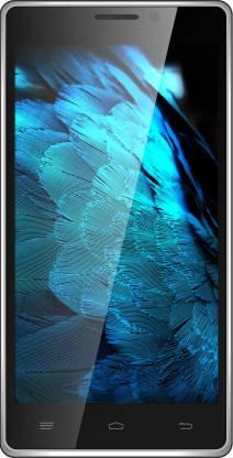 Intex Aqua Power HD (Silver, Black, 16 GB)