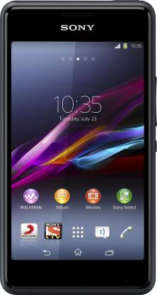 SONY Xperia E1 Dual (Black, 4 GB)