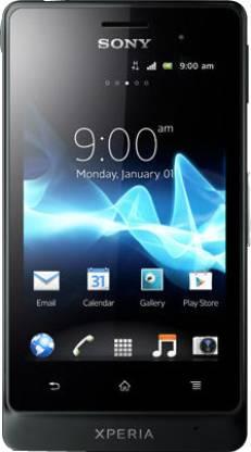 SONY Xperia Go (Tactile Black, 8 GB)