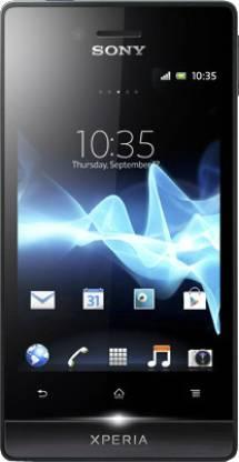 SONY Xperia Miro (Black, 4 GB)