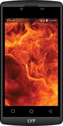 LYF Flame 7 (Black, 8 GB)