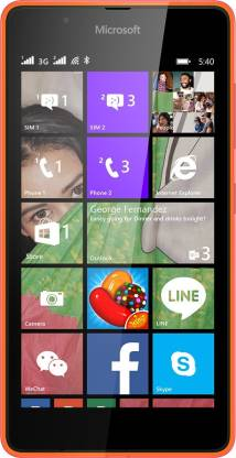 MICROSOFT Lumia 540 (Bright Orange, 8 GB)