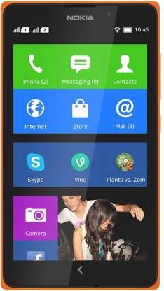 Nokia XL (Bright Orange, 4 GB)