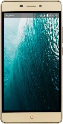 LYF Water 7 (Golden, 16 GB)