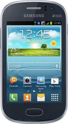 SAMSUNG Galaxy Fame (Metallic Blue, 4 GB)