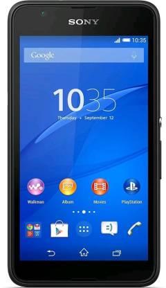 SONY Xperia E4G (Black, 8 GB)