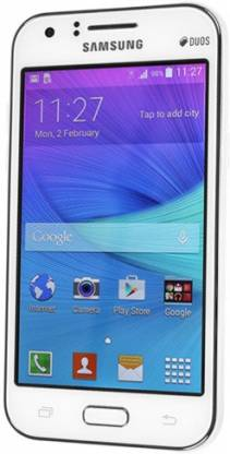 SAMSUNG Galaxy J1 (White, 4 GB)