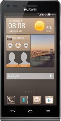 Huawei Ascend G6 (Black, 4 GB)