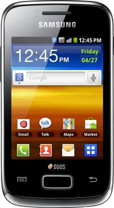 SAMSUNG Galaxy Y Duos (Strong Black, 160 MB)