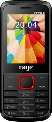 rage Power X Black Red