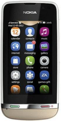 Nokia Asha 311 (Sand White, 140 MB)