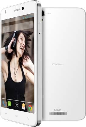 LAVA Iris X1 Beats (White & Silver, 8 GB)