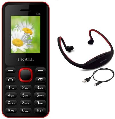 I Kall K66 with MP3/FM Player Neckband