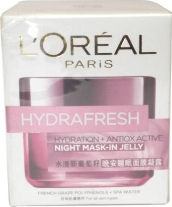 L'Oréal Paris Hydrafresh Night Mask-In Jelly