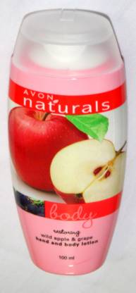 AVON Restoring wild apple and grape hand and body lotion