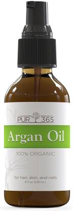 Pur365 Argan Oil For Face, Hair And Skin - Best Moisturizer For Dry Skin
