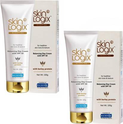 RICHFEEL Skin Logix Redefine Balancing Day cream Spf 50 100g Pack Of 2