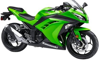 Kawasaki Ninja 300 ( Ex-showroom price starting from - Rs 3,70,940)