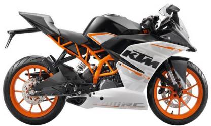 KTM RC 390 ( Ex-showroom price starting from - Rs 2,16,433)