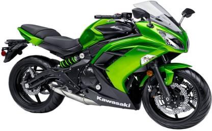 Kawasaki Ninja 650R ( Ex-showroom price starting from - Rs 5,46,382)