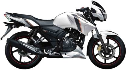 TVS Apache -160-Rear Disc ( New Style ) ( Ex-showroom price starting from - Rs 75,399)