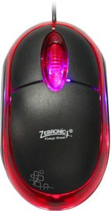 ZEBRONICS ZEB-M05 Plus Wired Optical Mouse