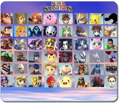 Magic Cases Super Smash Bros Character Mousepad